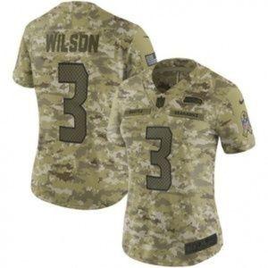 Women Seattle Seahawks Russell Wilson Jersey